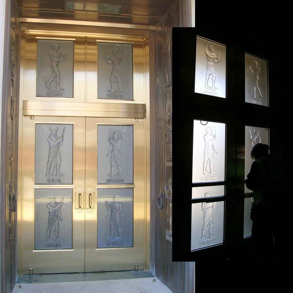 1.library_of_congress.glass.door.lawrie ... & Public Art/ Monuments   Washington Glass Studio pezcame.com