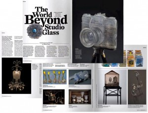American Craft Magazine article about Glass Secessionism.