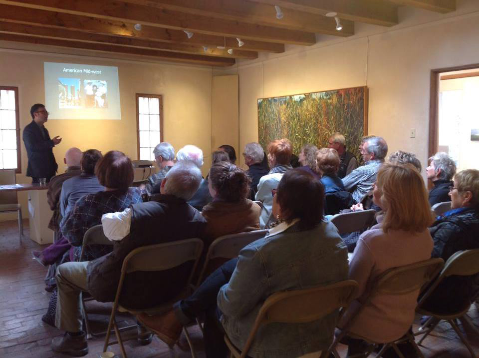 Michael Janis talks to the Art Alliance for Contemporary Glass (AACG) in Santa Fe, New Mexico.