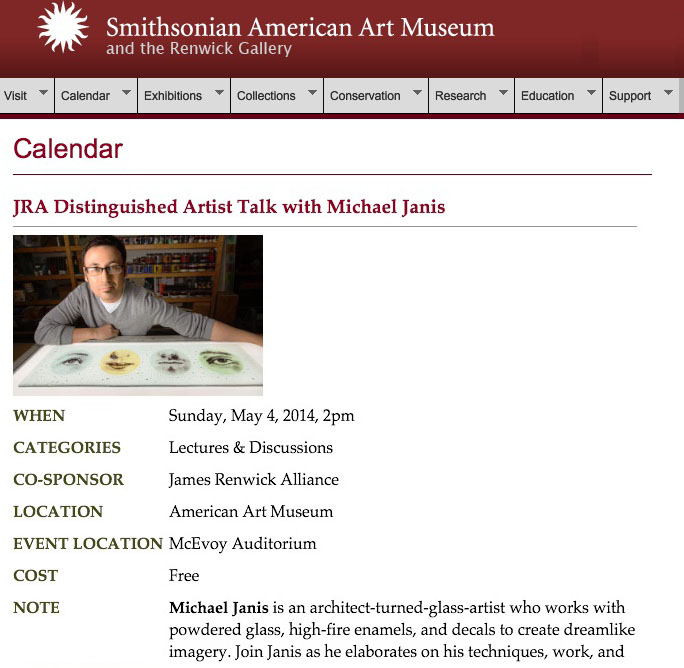 michael.janis.smithsonian.american.art.museum