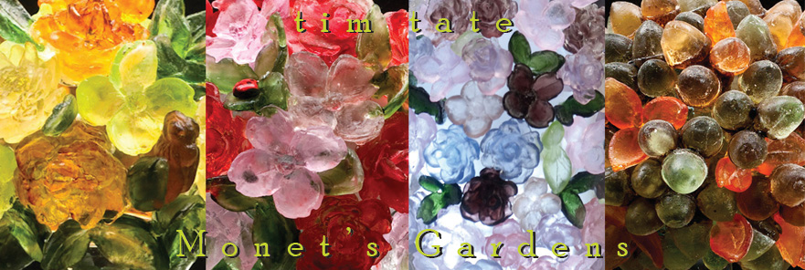 tim tate monet garden series