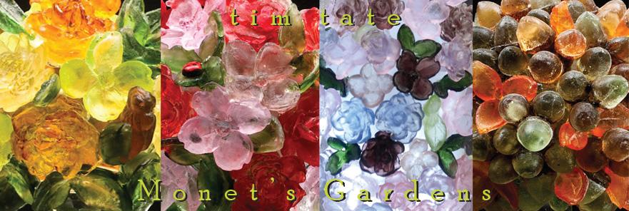 tim tate monet garden series