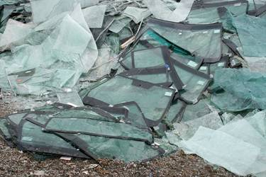 glass landfill