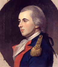 Commodore Joshua Barney - painted by Charles Willson Peale (1741–1827)