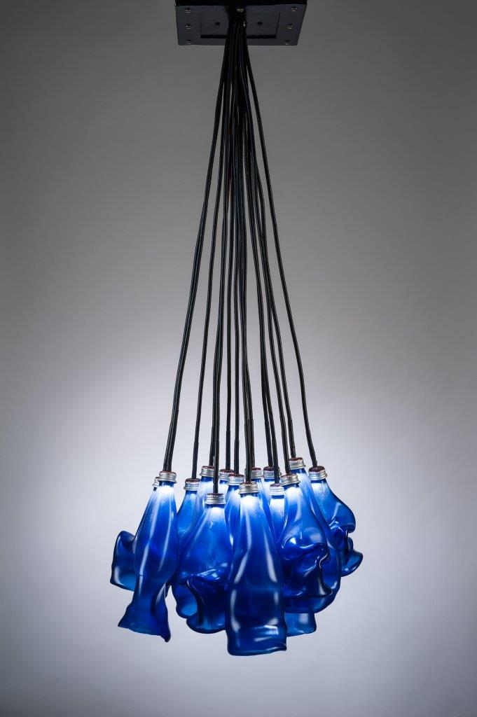 Erwin Timmers Recycled Glass lighting