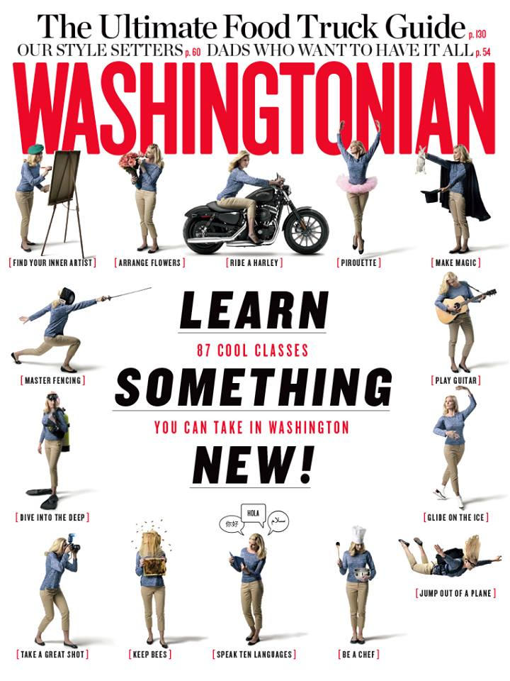 Washingtonian Magazine September Issue listed the WGS Beginner's Class among the Top 87 cool classes in DC.