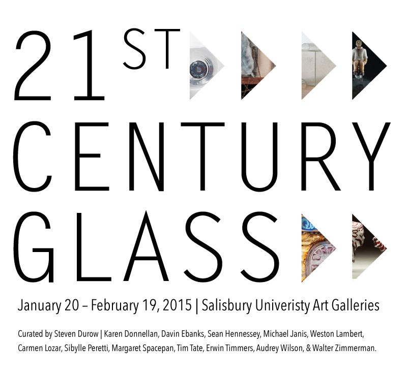 21st Century Glass exhibit at Salisbury University
