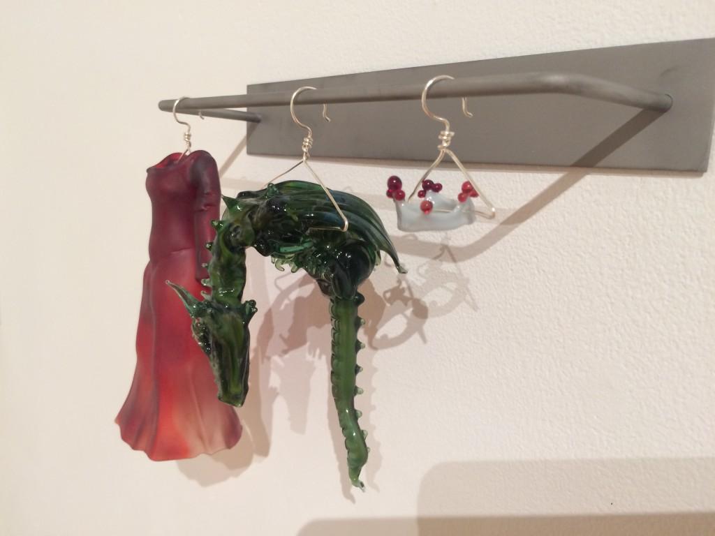 Glass sculptures by Carmen Lozar