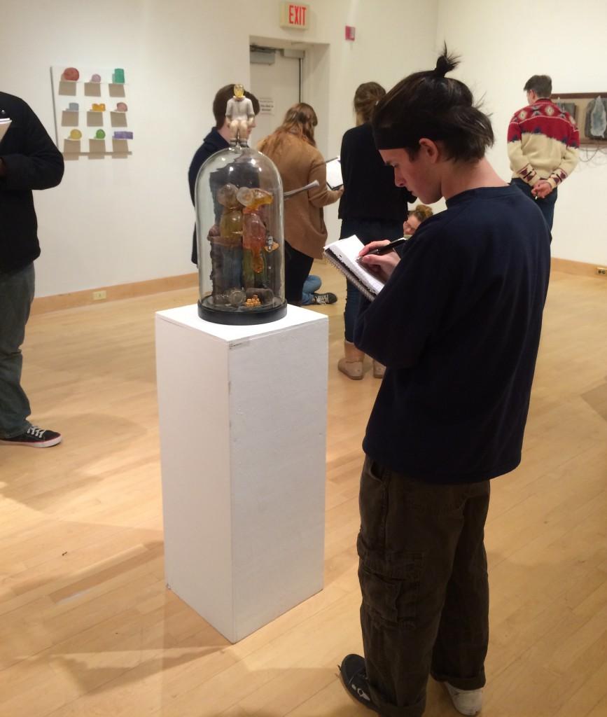 Salisbury University exhibit on 21st Century Glass