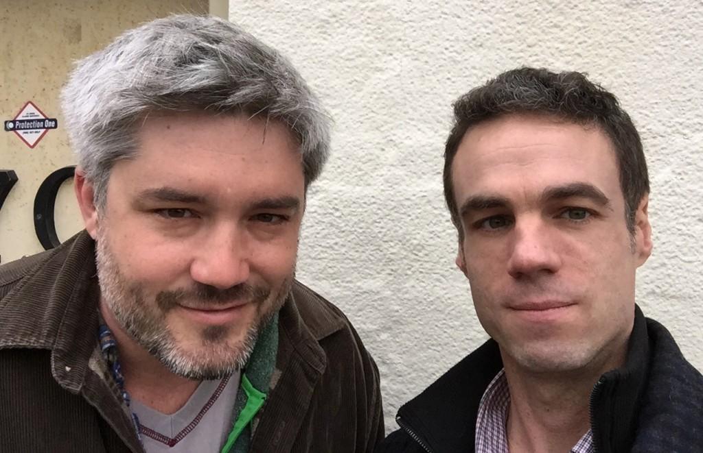 Otis Street Arts Project Directors Sean Hennessey and David Mordini