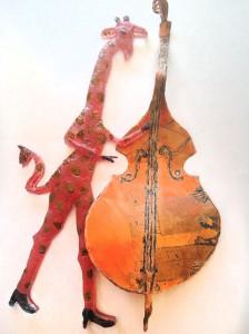 Allegra Marquart's glass artwork will be shown at Maurine Littleton Gallery.