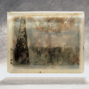 "Cheryl Derricotte, ""Oil and Water"" 2014, glass"