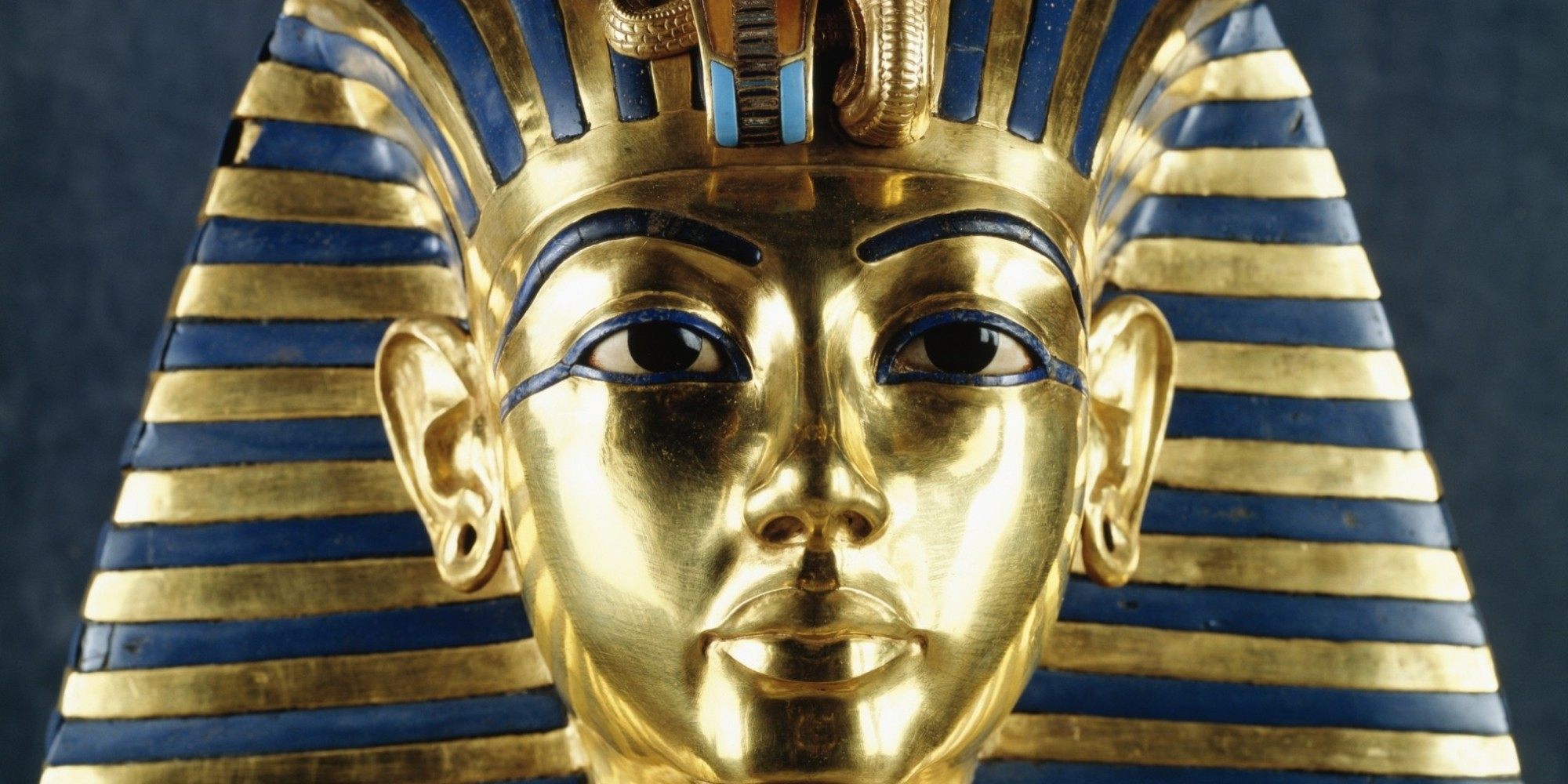 The mask of Tutankhamun credit: DE AGOSTINI / A. JEMOLO VIA GETTY IMAGES