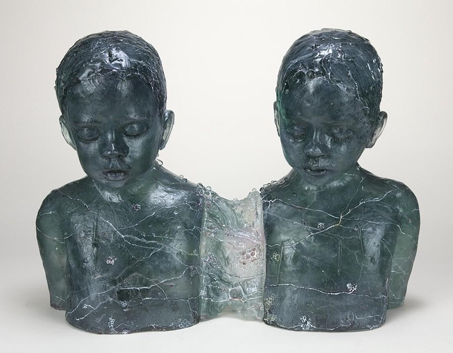 figurative glass art, feminist art