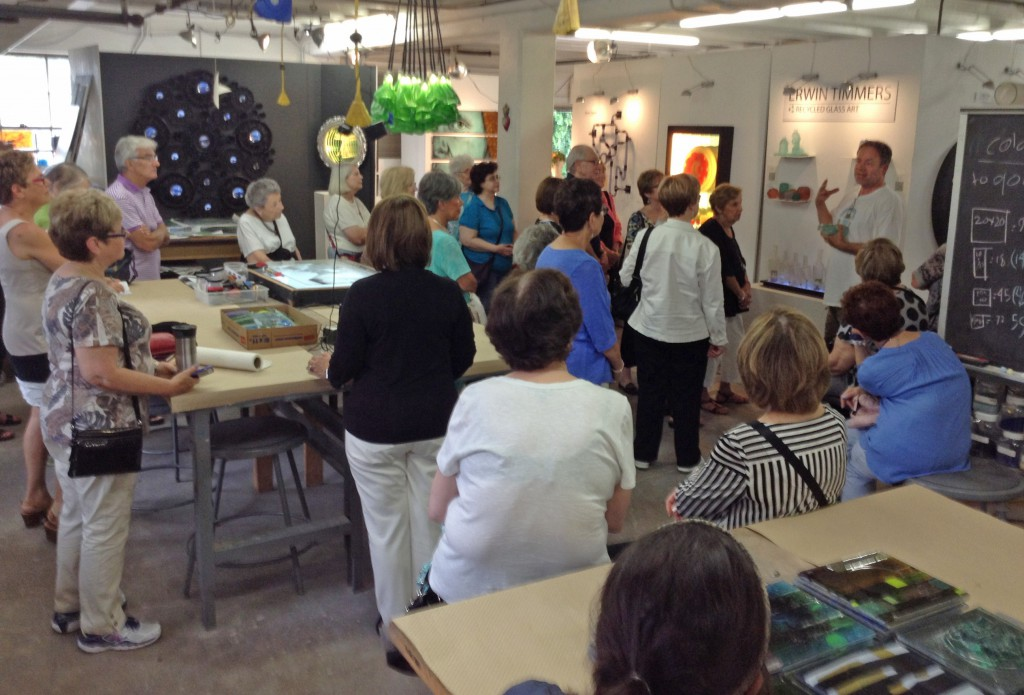 Erwin Timmers outlines his process for casting with recycled glass to make artwork