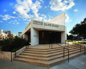 The Chrysler Museum of Art Perry Glass Studio in Norfolk, VA.