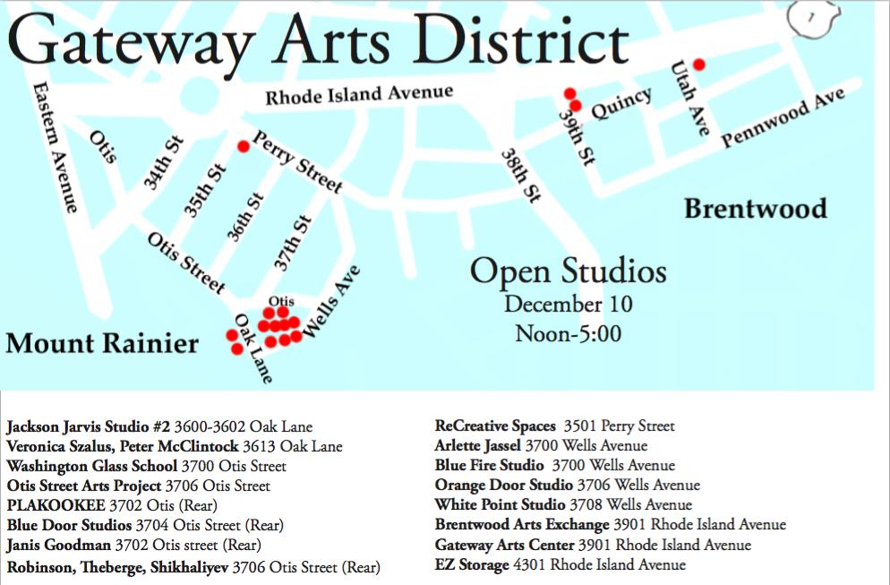 Gateway Arts District Maryland District of Columbia Washington Glass School
