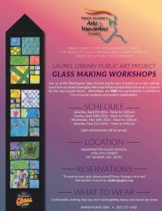 Laurel Library artwork sought involvement by the residents and the community.