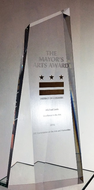 2016 DC Mayor's Arts Award