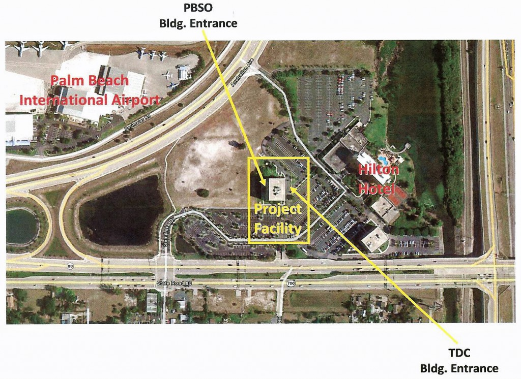 Site for public art at West Palm Beach Airport