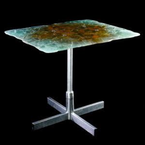 glass.steel.table.make.erwin.timmers.school.dc.art.functional.sculpture
