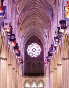 The Washington National Cathedral is the venue for the JRA Spring Craft Weekend Gala. Besides the dinner, the JRA will be having an auction featuring works by this year's Master of the Medium Awards.