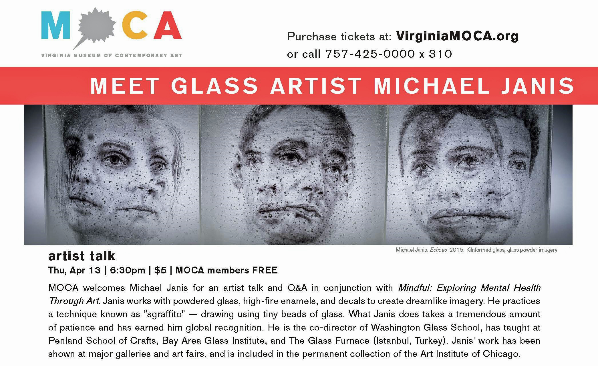 MOCA_meet_the_artist_Janis_michael.museum.glass.mental_health.mindful