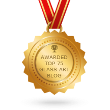 "Top ""Glass Art Blog"". In the world."