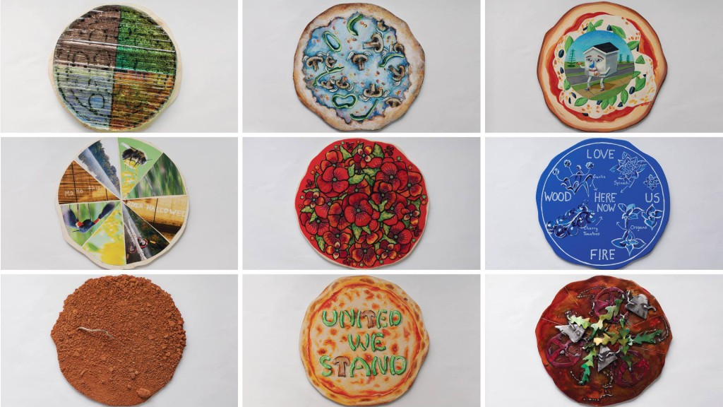 "The artworks created by area artists are truly ""Master Pizzas""!"