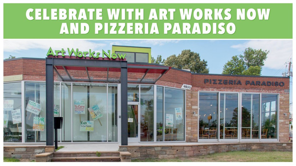 Artworks Now and Pizzeria Paradiso's new facility located at 4800 Rhode Island Ave., Hyattsville, MD.