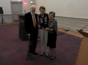 SAAM Director Stephanie Stebich honors the Parkmens.