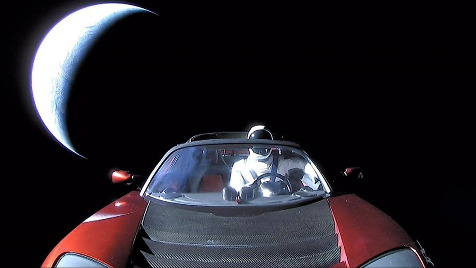 Spacex Starman Heads Towards Mars & Beyond