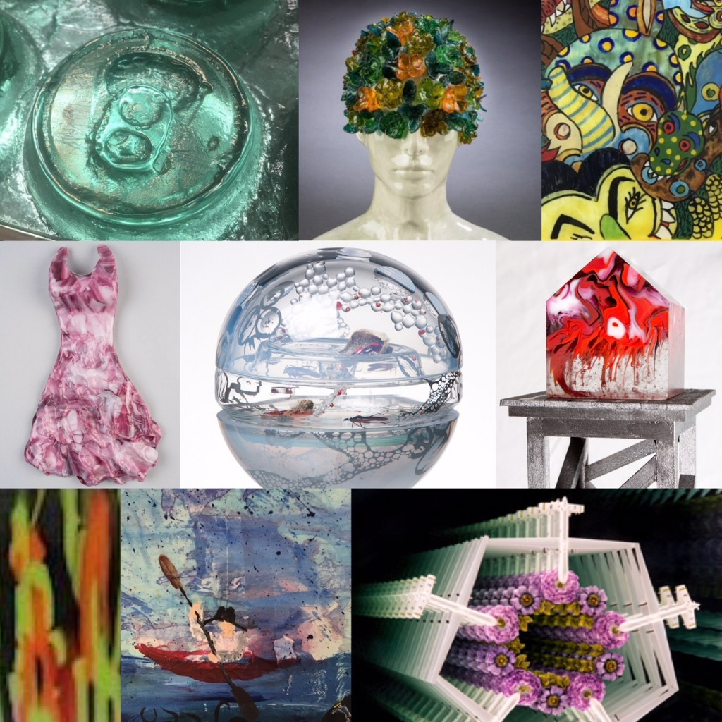 Works by artists & instructors of the Washington Glass School will amaze and delight!