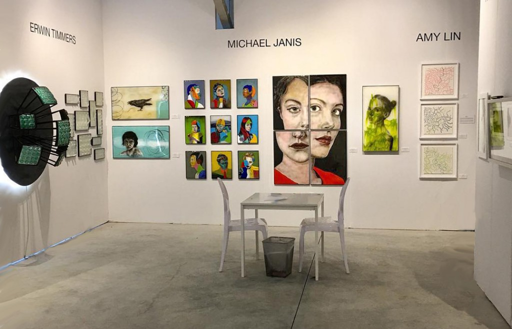DC's Alida Anderson Art Projects space at Context / Art Miami featured works by artists of the Washington Glass School.