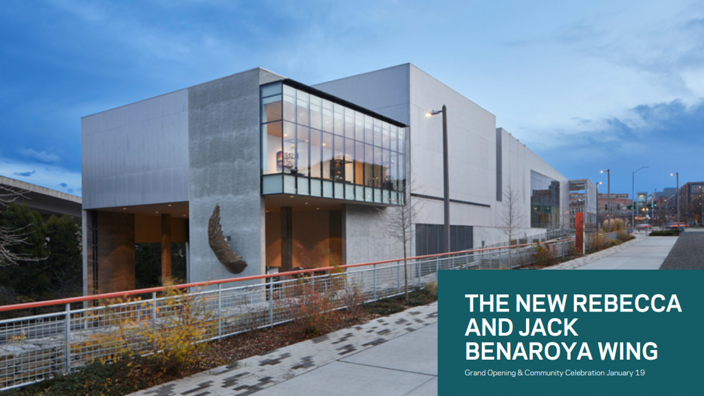 Tacoma Art Museum's new Rebecca and Jack Benaroya Wing.