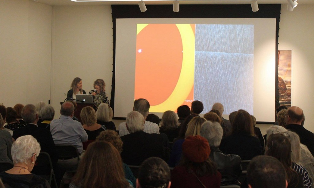 American University Museum was host for the JRA artist talk by Mel Douglas and Nancy Callan.