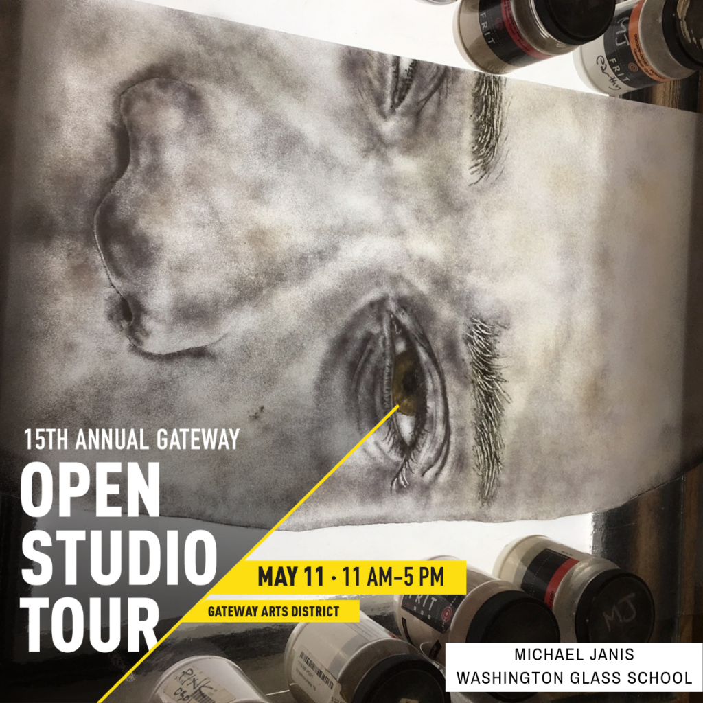 The 15th Annual Gateway Open Studios Tour Saturday May 11 from 11am-5pm.
