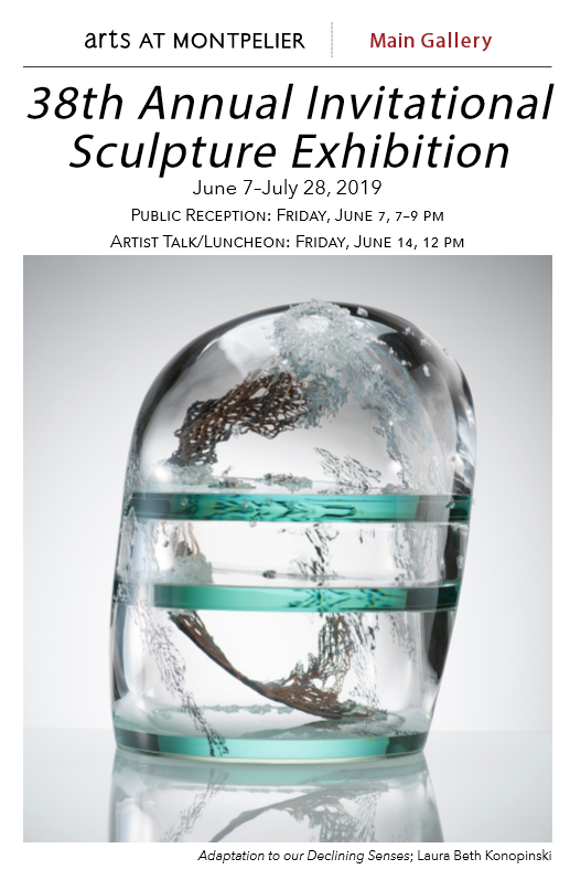 Montpelier Arts Center 38th Annual Invitational features works by Washington Glass School artists & alum.