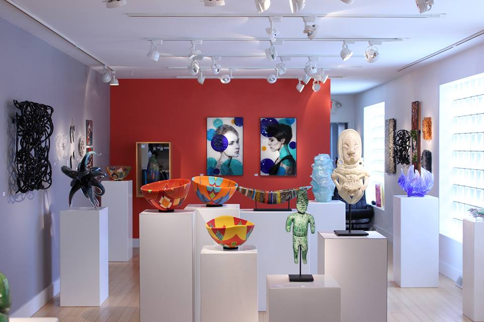 Morgan Contemporary Glass Gallery in Pittsburgh, PA.