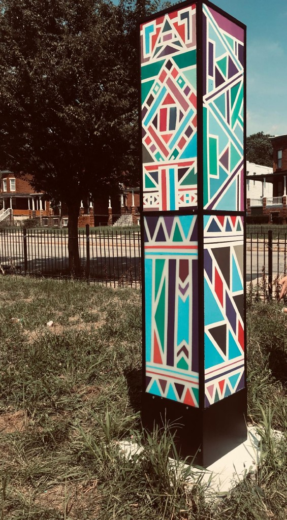 WGS Resident Artist, John Henderson, has been creating artwork that enriches the Baltimore area.