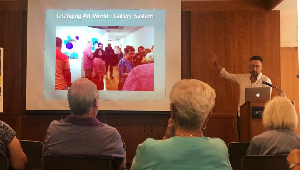 Artist Michael Janis talks about his work and how the art world is changing.