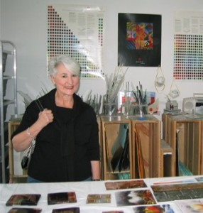"Artist Diane Cooper Cabe was a student in the first class. Said Diane : ""Being at Meltdown during that stressful, sad time with warm-hearted folks and creative work to do helped us all heal."""