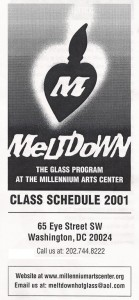 Washington Glass School was originally named Meltdown