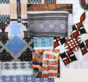 Fabrics & textiles of the cultures that make up the Silver Spring neighborhoods was the inspiration of the new artwork design for 900 Thayer.