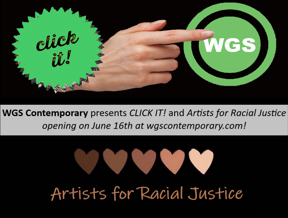 WGS Contemporary hosts CLICK-IT and Artists for Racial Justice