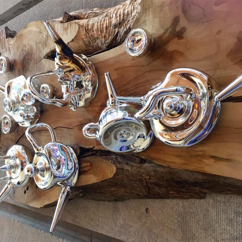 Sean Donlon's surreal teapots.