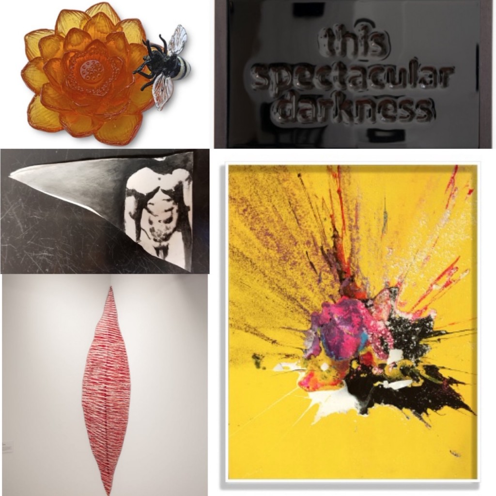 Works by Jennifer Caldwell & Jason Chakravarty, Jeff Zimmer, F Lennox (Lenny) Campello, Teri Bailey and Steve Wanna.