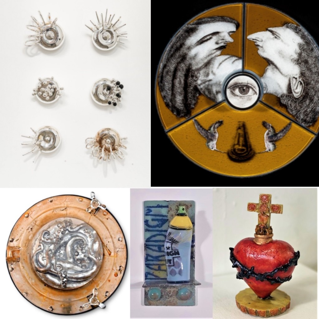Works by Sean Donlon, Michael Janis, Jennifer Caldwell & Jason Chakravarty, Joseph Ivacic and Tim Tate.