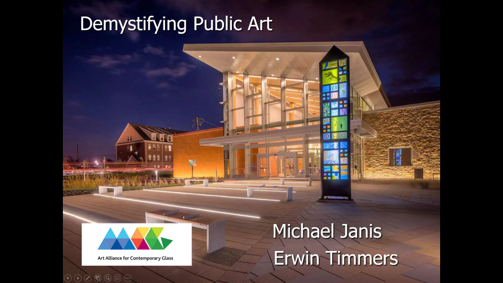 aacg.public.art.wgs.studio.glass.sculpture.education.arts.community.involvement.michael.janis.erwin.timmers.contemporary.public