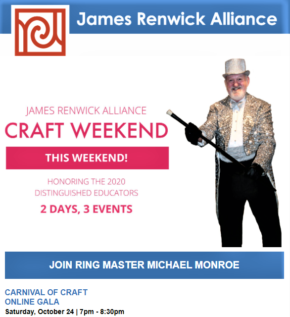 james.renwick.alliance.michael_monroe.craft.weekend.jra.carnival.magic.art.new.dc.washington.support.smithsonian